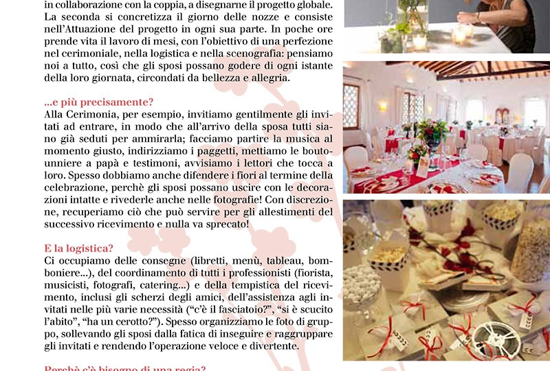 Professione wedding planner