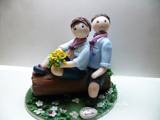 cake topper Scout